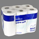 Paper higiènic doble capa 266 serveis paq. 12