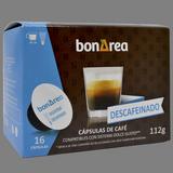 Càpsula de cafè descafeïnat molt 16 càpsules