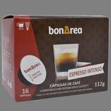 Càpsula de cafè espresso intens molt 16 u.