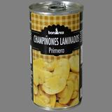 Xampinyons laminat primera llauna