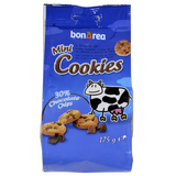 Galletas mini cookies con chocolate