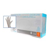 Guante latex con polvo New Mark XS
