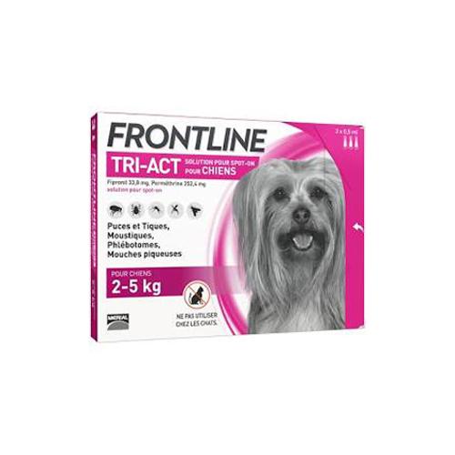 Frontline tri-act 2-5 kg.