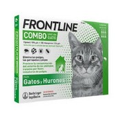 Frontline spot on combo gatos