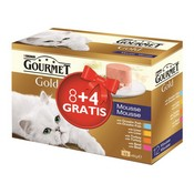 Gourmet gold pack 4 sabores 12338250.