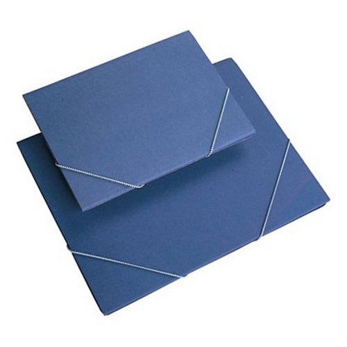 Carpeta blava bossa foli