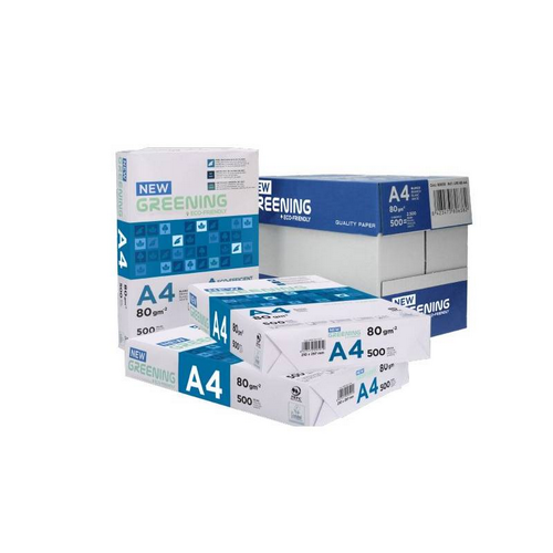 Paquete Greening Din A-4 80grs