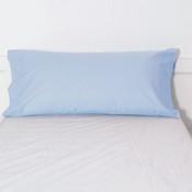 Trovador funda almohada cama 105 celeste.