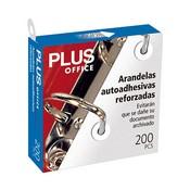 Arandel·les adhesives Plus Office 200u