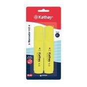 Retolador fluorescent groc Kathay 862119