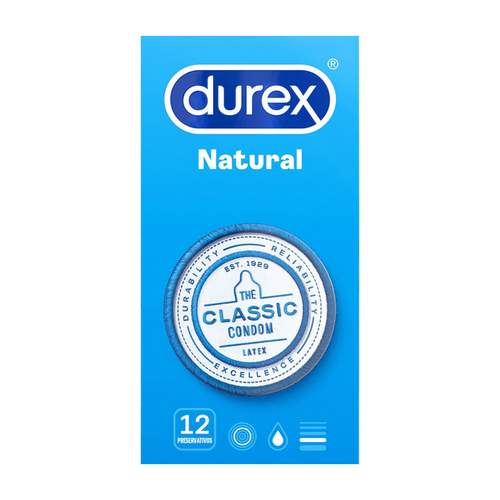 Durex natural confort.