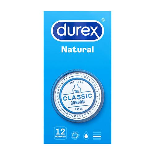 Durex natural comfort.