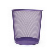 Paperera reixa 27cm violeta 183443