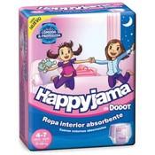 Dodot happyjama 4-7 años 17-29kg niñas