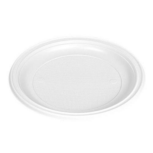 Platos plástico blancos 22cm