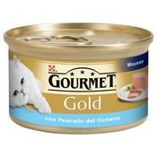 Gourmet gold mousse peixos de l'oceà