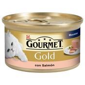 Gourmet gold mousse salmó.