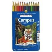 Colors campus aquarel·lables 12u