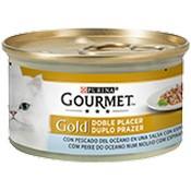 Gourmet gold doble plaer peixos de l'oceà