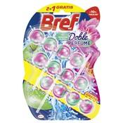 Bref Doble Perfume manzana floral & lirio de agua pack 2+1