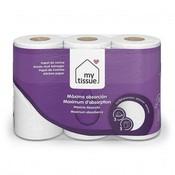 My Tissue papel cocina 3 capas 3 rollos