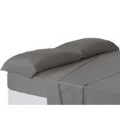 Trovador funda almohada cama 150 gris.