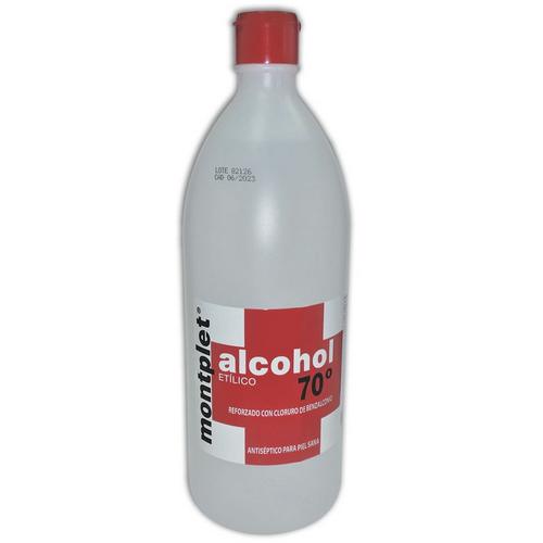Alcohol etílic 70º Montplet