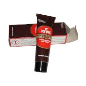 Kiwi betún tubo marrón