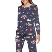 Pijama Gisela blau L hivern 2/1840