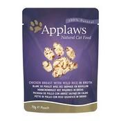 Applaws Pouch pollo y arroz comida húmeda para gatos