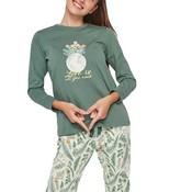 Pijama Gisela verd XL hivern 2/1820
