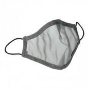 Mascarilla transparente gris junior 00150