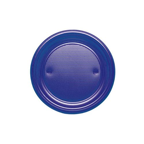 Plats de plàstic 20,5cm blau
