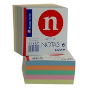 Notes adhesives colors 9X9X5 209972