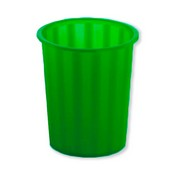 Paperera plastic translúcid 16l verd 155017