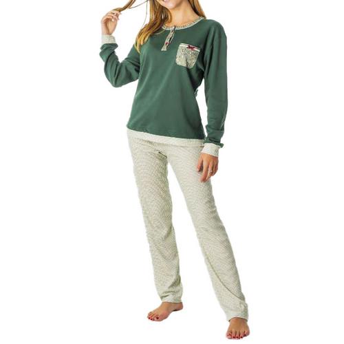 Pijama tpd 20067 L hivern DONA