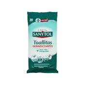 Sanytol tovalloletes desinfectants 30u