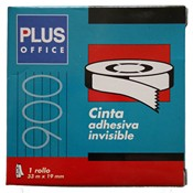 Cinta invisible Plus Office 33mx19mm