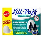 Kill Paff mosquits 2 recanvis + aparell
