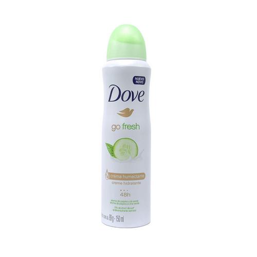 Dove desodorante pepino y te spray.