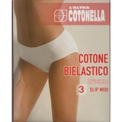Calces cotonella 3488 negra talla 5/XL/44