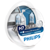 Set Lampara H7 Whitevision 2H7+2W5W 1971375Philips