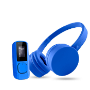?Pack Auriculares Diadema + MP3 8 GB Radio FM Micro SD