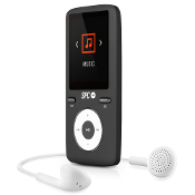 Reproductor MP4 8GB 1,8 SPC 8488D Negro