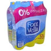 Aigua manantial Font Vella paq. de 6 ampolles