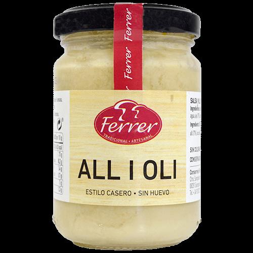 Salsa alioli Ferrer pot