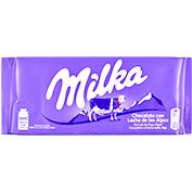 Chocolate con leche Milka