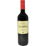 Vino tinto Castillo san Asensio DO Rioja