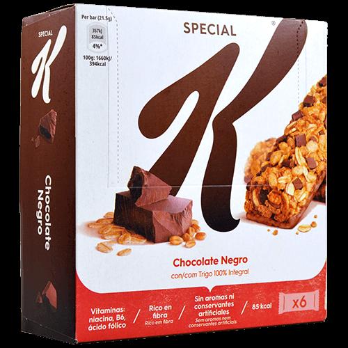 Barretes cereals special k xocolata Kellogg's 6 u.