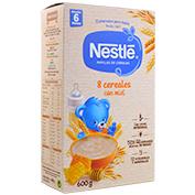 Farinetes Nestlé 8 cereals amb mel